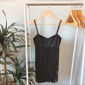 Jack by BB Dakota Rowland's Suede Fringe Dress